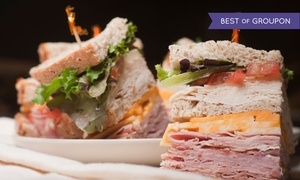 Brocato's Sandwich Shop: $28 for $50 Worth of Sandwiches and Snacks Ordered Online from Brocato's Sandwich Shop
