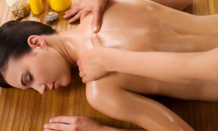 $59 for a 75-Minute Aromatherapy Massage with Foot Reflexology at lillieAnn's ($130 Value)