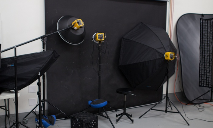 The Diy Photo Studio - Ogden: 60-Minute Studio Photo Shoot with Wardrobe Changes and Digital Images from DIY Photography (70% Off)