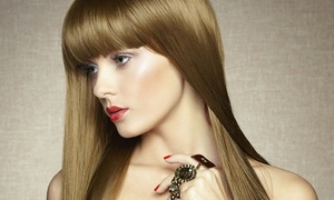 Elite Beauty Studio: Argan Oil Treatment with Blow-Dry and Optional Treatments at Elite Beauty (Up to 75% Off)
