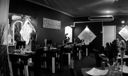 Menu Black Out Eveil des sens pour 2 personnes à 65 € au restaurant Alchimie