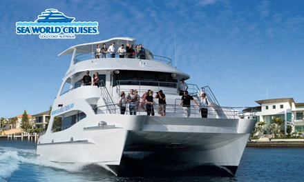 $45 for a SixHour Cruise Experience or $65 to add lunch with Sea World Cruises up to $85 value