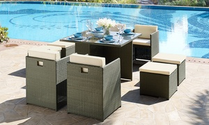 Rattan-Effect Dining Sets