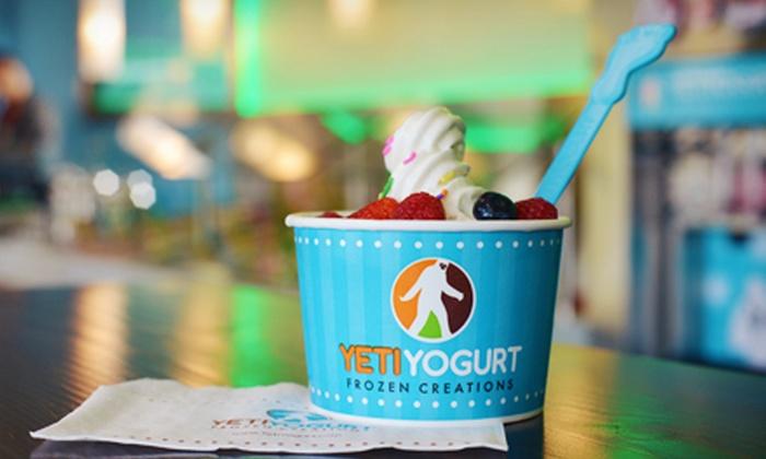 Yeti Yogurt - Burnaby Mountain: Frozen Yogurt at Yeti Yogurt (Half off)