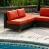 Napa Springs Red Tulip 3-Piece Indoor-Outdoor Wicker Furniture Set
