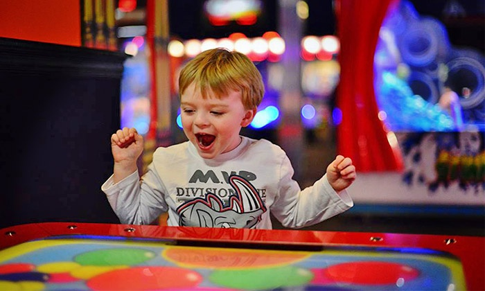 Tulsa's Incredible Pizza Company, LLC - Tulsa's Incredible Pizza Company: Buffet, Drinks, Trampolining, and Games for Two or Four at Tulsa's Incredible Pizza Company (50% Off)