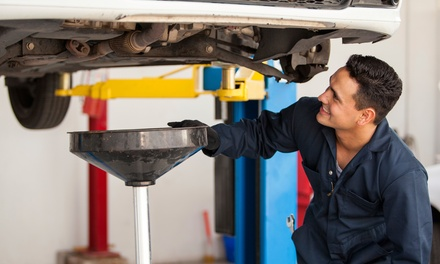 $29 for a Synthetic-Blend Oil Change and 27-Point Inspection at Precision Automotive ($60 Value)