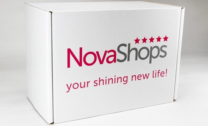 Essayez le régime protéiné pendant 7 jours avec le Low Budget Box de NovaShops, incluant un shaker et les frais d'envoi.