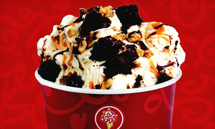 Cold Stone Creamery - Multiple Locations: Two or Four Medium Ice-Cream Creations at Cold Stone Creamery (Up to 56% Off)