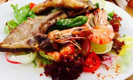 Exklusives 3-Gänge-Fischmenü für zwei oder vier Personen bei Papalina Fisch & Steak (bis zu 45% sparen*)