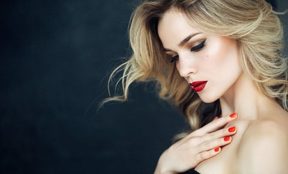A Blowout and Style or Haircut Package with Deep Conditioning or Single Color at Hair by Juan (Up to 81% Off)