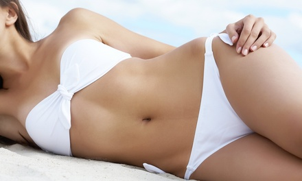 One or Two Brazilian Waxes at Aesthetic and Nails by Mona (Up to 54% Off)