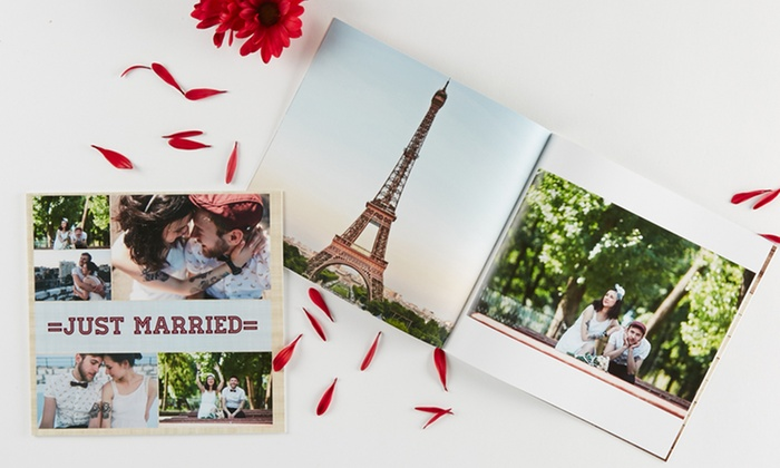 Collage.com: Personalized Softcover or Hardcover Photo Book from Collage.com (Up to 71% Off). Three Options Available.