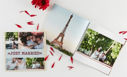 Personalized Softcover or Hardcover Photo Book from Collage.com (Up to 71% Off). Three Options Available.