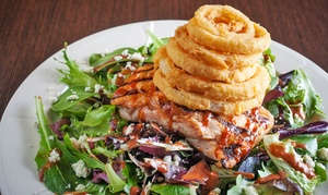 Prezo Grille & Bar: American and International Cuisine for Two at Prezo Grille & Bar (Up to 43% Off). Two Options Available.