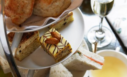 image for Afternoon Tea with Glass of Prosecco for Two or Four at Harben House (56% Off)