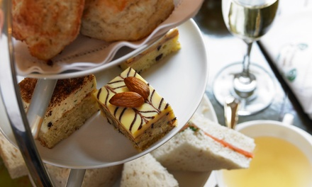 Sparkling Afternoon Tea for Two or Four at R Bar & Brasserie at The Richmond (Up to 55% Off)
