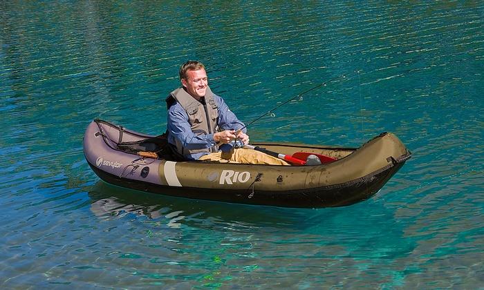 Oakley Gauge 8 >> Coleman Sevylor Inflatable Canoe | Groupon Goods