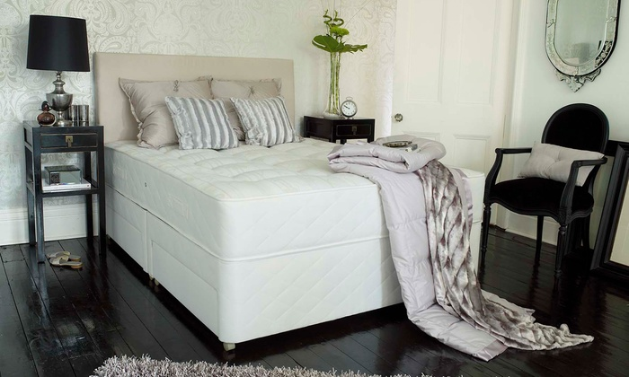 SilentNight: Silentnight Ergo Coil Hamlet Mattress from AED 1,599 with Optional Base from AED 2,369 With Free Delivery
