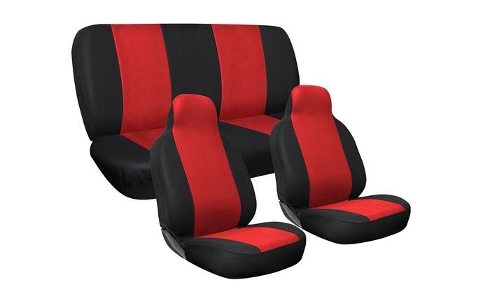 Car Seat Cover Set 3 Piece