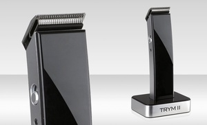 trym ii rechargeable hair mustache and beard trimmer groupon. Black Bedroom Furniture Sets. Home Design Ideas