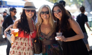 California Beer Festival: $25 for California Beer Festival Tickets for Two with Beers and Pint Glasses on September 13 ($60 Value)