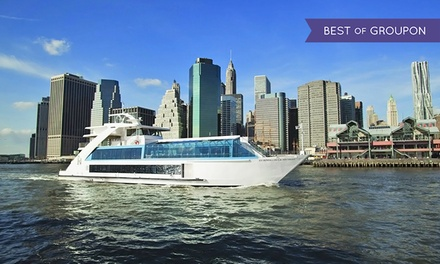 Manhattan Dinner or Brunch Cruise for One or Two from Hornblower Cruises (Up to 46% Off). Six Options Available.