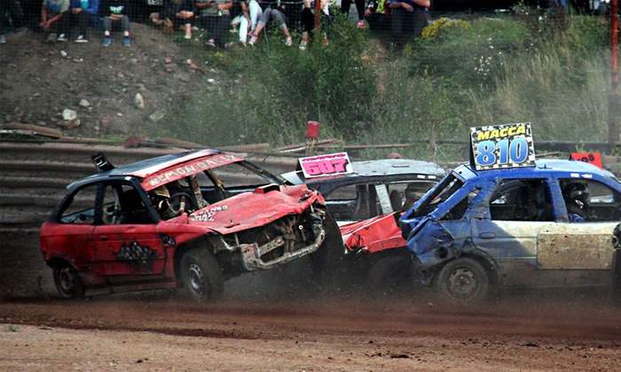 Startrax - Manchester: Stock Car Racing: Entry For Two (£14) or Family of Five (£19) at Startrax