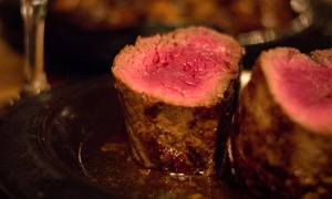 Lindey's Prime Steak House: Steakhouse Cuisine and Drinks at Lindey's Prime Steak House (Up to 42% Off)