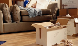 NY Corp Logistics: $279 for Two Hours of Moving Services with Two Movers from NY Corp Logistics ($555 Value)