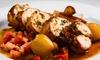 La Terrazza del Barbaresco - Neviglie: Menu piemontese di 4 portate con vino per 2 persone al ristorante La Terrazza del Barbaresco (sconto fino a 63%)