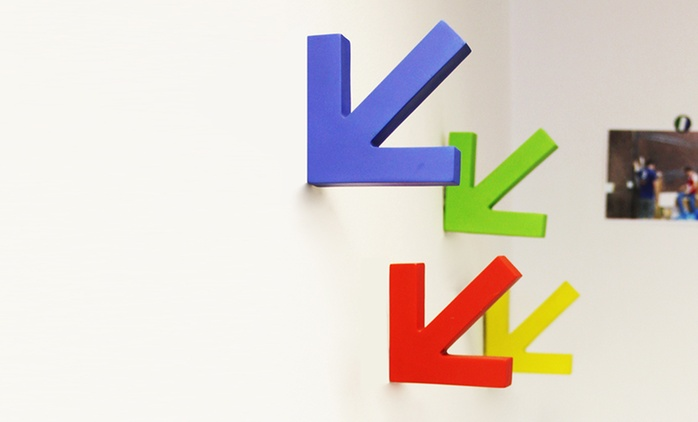 Colourful Coat Hooks: 4 (£4.99), 8 (£8.99) or 12 (£13.00) (Up to 78% Off)
