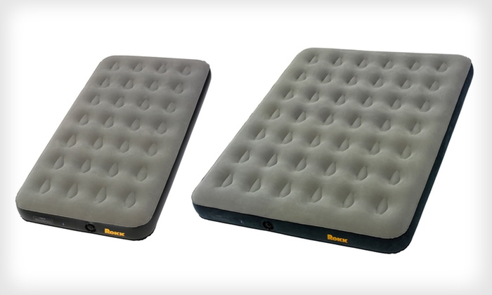 Rokk Twin and Queen Airbeds: Rokk Twin or Queen Cirrus or Stratus Airbeds (Up to 40% Off). Free Shipping and Free Returns.