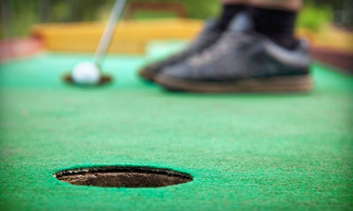 McCollum Park Miniature Golf & Concession - McCollum Park: Mini-Golf for Two or Four or One Kids' Play Pass for One at McCollum Park Miniature Golf & Concession (Up to 51% Off)