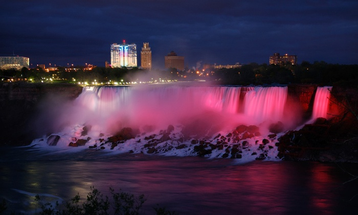 Four Points by Sheraton Niagara Falls Fallsview - Niagara Falls, ON: One-Night Stay with Dining Credits or Family Package at Four Points by Sheraton Niagara Falls Fallsview in Ontario
