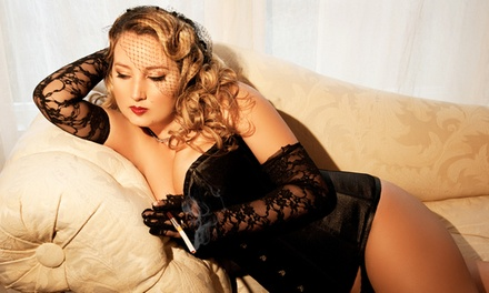 $49 for One-Hour Boudoir Photo-Shoot Package at Sugar and Spice Boudoir Photography ($245 Value)
