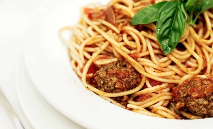 $11 for $20 Worth of Italian Food at La Cucina Cafe