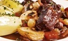 The Emerald Restaurant - Austin: Four-Course Dinner with Steak, Lobster, or Both for Two at The Emerald Restaurant (Up to 66% Off)