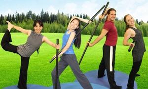 Bo Yoga: Five or 10 Bo Yoga Classes at Bo Yoga (Up to 60% Off)