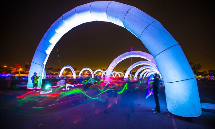 Electric Run - Portland International Raceway: One or Two Entries to Electric Run Plus Glow Package on Saturday, October 4 (Up to 40% Off)