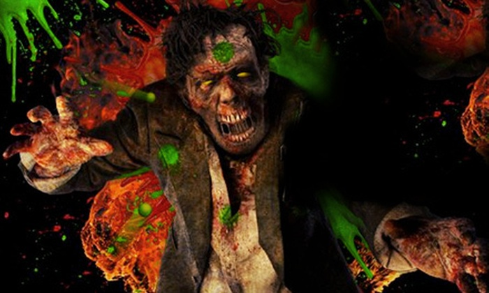 Field of Screams - Olney: $41 for a Full Monty Value Pack with Entry to Four Attractions and a Line-Jump Pass at Field of Screams ($82 Value)