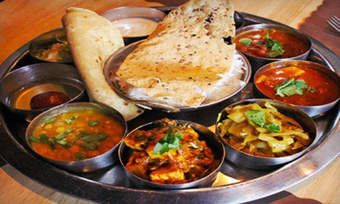 Bhojan - Kips Bay: Vegetarian Indian Dinner with Drinks for Two or Four at Bhojan (Up to 58% Off). Four Options Available.