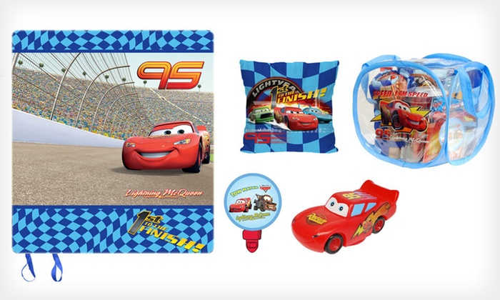 Disney Children's Slumber Set: $24 for a Five-Piece Disney Children's Slumber Set ($59.99 List Price). Two Designs Available. Free Shipping.
