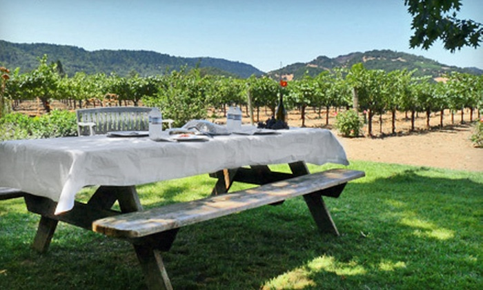 Pilot Knob Vineyard - Briggs: Picnic in the Vines for Two or Four at Pilot Knob Vineyard (52% Off)