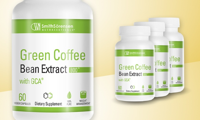 Buy 2 get 1 Free: Green Coffee Bean Extract with GCA: 1 Bottle of Green Coffee Bean Extract with GCA or 2 Bottles with 1 Bottle Free