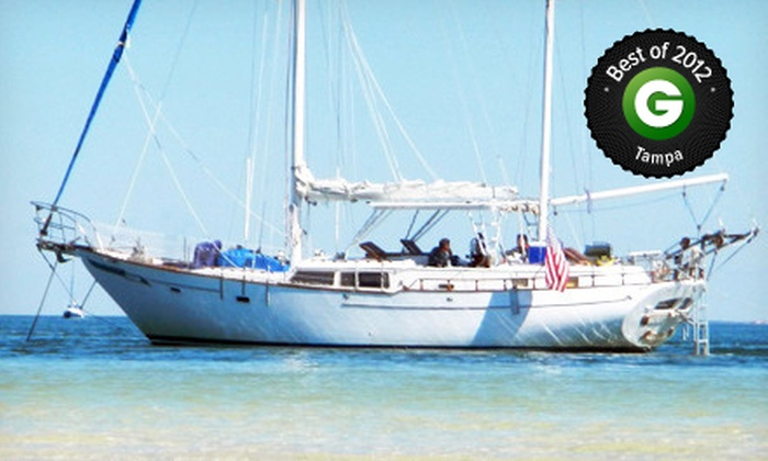 Atlantis V Charters - Belle Harbour Marina: Half- or Full-Day Sailing Outing with Refreshments from Atlantis V Charters (Up to 51% Off)