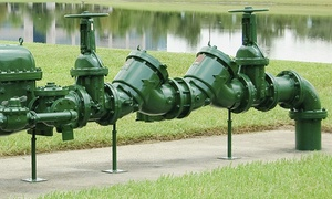 County Certified Backflow: $25 for Backflow-Device Testing from County Certified Backflow ($49 Value)