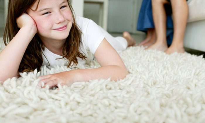 Maestro Carpet Cleaning - Dallas: Carpet Cleaning for Three, Four, or Five Rooms or Tile and Grout Cleaning from Maestro Carpet Cleaning (Up to 67% Off)