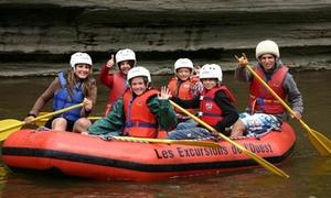 Les excursions de l'Ouest: C$75 for a Family Raft Rental for Two to Five at Les Excursions de l'Ouest (C$149.75 Value)