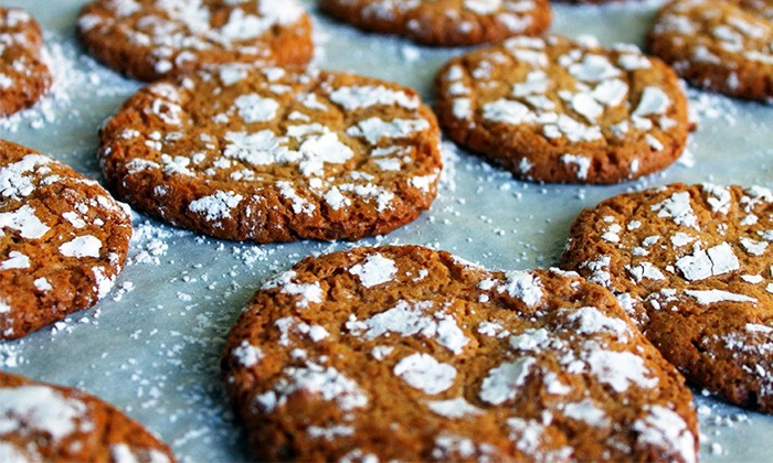 The Dirty Cookie - Highland: One Dozen Cookies with a Pint of Milk and Frozen Yogurt for Pick-Up or Delivery from The Dirty Cookie (45% Off)